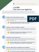10 Keys to ERP Go Live in an Agile Era