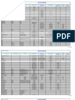 Battery Matrix - Xerox Products