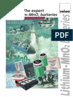 Li-MnO2 Batteries (Friwo)