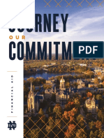 University of Notre Dame Your Journey Our Commitment