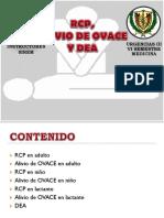 RCP%2c OVACE y DEA