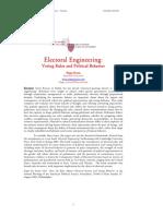 Electoral Engineering