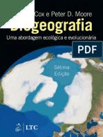Biogeografia - Uma Abordagem Ecológica e Evolucionária - Cox e Moore - 7ª ed.pdf
