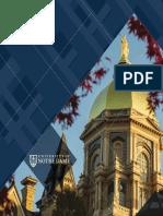 University of Notre Dame, International Travel