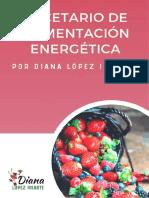 Recetario Alimentación Energética - Diana López Iriarte