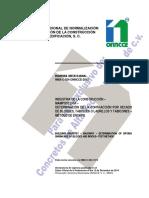 NMX C 024 ONNCCE 2012 Determinación de La Contracción Por Secado de Bloques Tabiques o Ladrillos y Tabicones