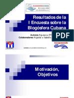 Resultados de la I Encuesta sobre la Blogósfera Cubana