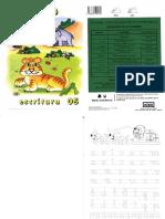 Caligrafía Rubio Escritura 05 (Educación Infantil)