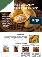 Cacao en Grano y Semielaborados en India (1)