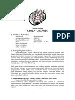 Penuntun Praktikum Kimia Organik I