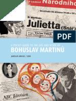A Pocket Guide to the Life and Work of Bohuslav Martinu