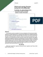 TD.5.1.7 Gardner&Aleksejuniene PPT&Learning Theories