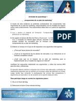 Evidencia 4 Blog Componentes de Un Plan de Marketing
