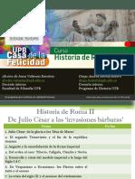 Sesión 11 Julio César de la gloria a los 'Idus de Marzo'