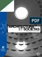 Galiano Architectura Et Societas