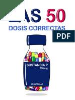 50 dosis correctas