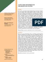 A arte - instrumento de sublimação das pulsões.pdf