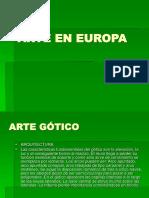 Arte en Europa
