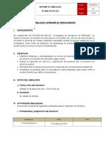INFORME DE SIMULACRO DE DERRAME DE HIDROCARBUROS