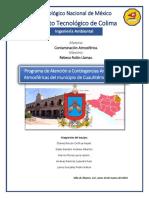 Programa de Atención a Contingencias Ambientales Atmosféricas Del Municipio de Cuauhtémoc, Colima.