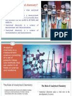 Intro to Analytical Chemistry