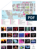 Canary Wharf Arts Events Winter Lights 2019 Map