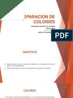5. Preparacion de Coloides