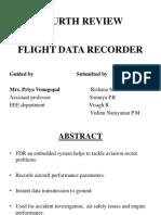 FLIGHT DATA RECORDER