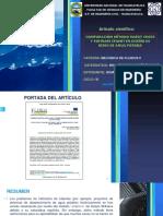 Artículo científico - Diapositiva