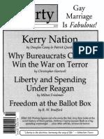 Liberty Magazine October 2004 - When You Wish Upon a Czar - Norman Ball