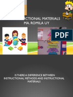 Instructional Material Ppt