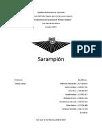 Cadena Epidemiológica Del Sarampión