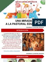 una mirada a la Pastoral Educativa
