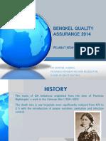 Ceramah Bengkel Quality Assurance 2014