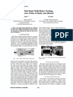2004 Multi-Target Multi-Object Tracking, Sensor Fusion of Radar and Infrared