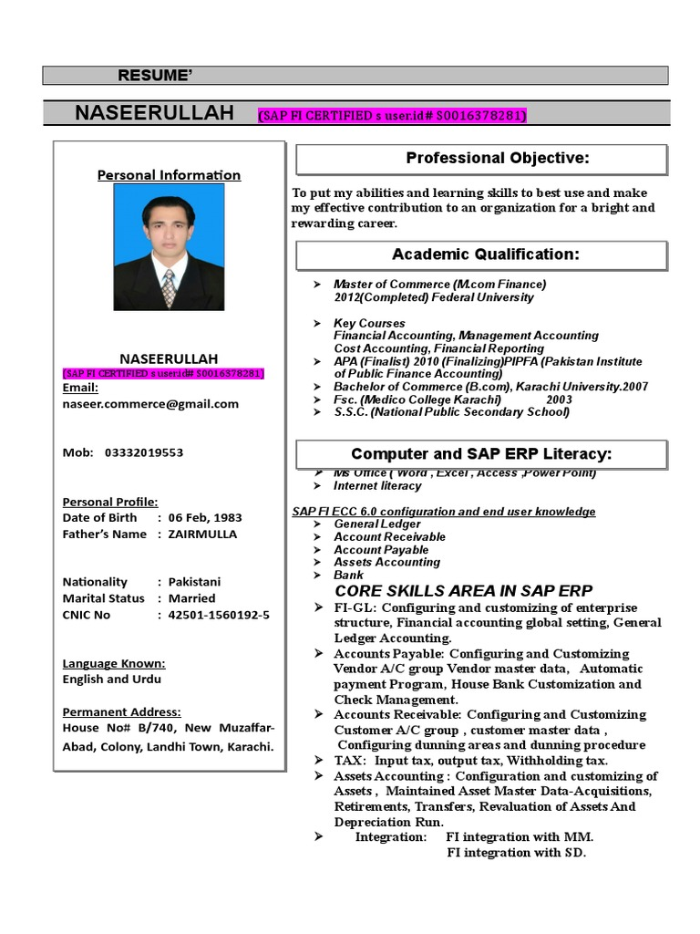 NASEER CVs FOR ERP SAP FINANCE-----IT--------(1) doc