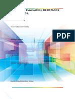 Analisis y Evaluacion de Estados Financieros