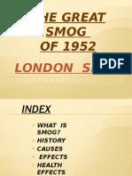EVS - London Smog