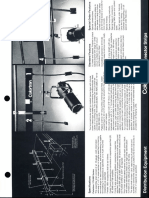 Colortran Distribution Equipment Connector Strips Spec Sheet 1995