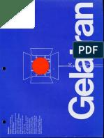 Colortran Gelatran (Color Gel Filters) Spec Sheet 1970