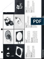 Colortran Lighting Fixture Accessories Spec Sheet 1995