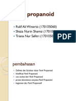 PPT FENILPROPANOID