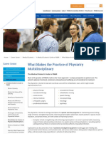 AAPMR - What Makes the Practice of Physiatry Multidisciplinary