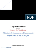 Kingdom Foundations Lesson 3 - PowerPoint