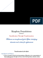 Kingdom Foundations Lesson 5 - PowerPoint
