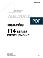 KOMATSU SHOP MANUAL ENGINE  114E-2 Series.pdf