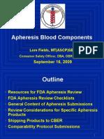 Apheresis Licensure