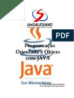 Programação orientada a Objeto com JAVA