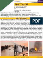 Safety Aalert de l'Accident ROD 17 Du 02 05 2018