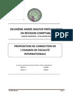Correction Examen Principale Janvier 2014
